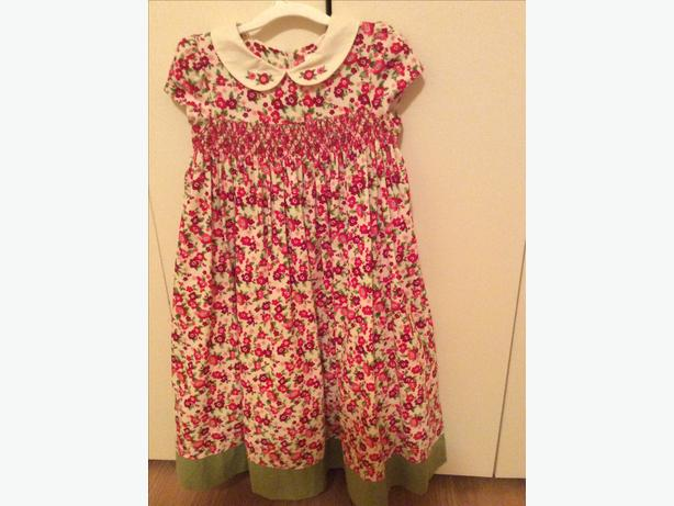 Gymboree Corduroy Smock Dress - size 5T