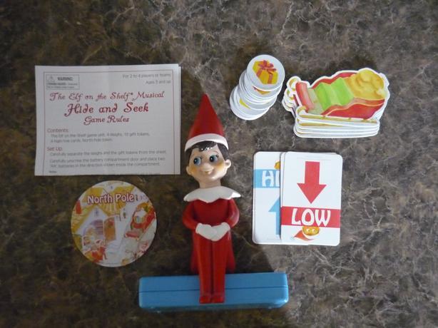 The ELF on the Shelf Musical Hide and Seek Game