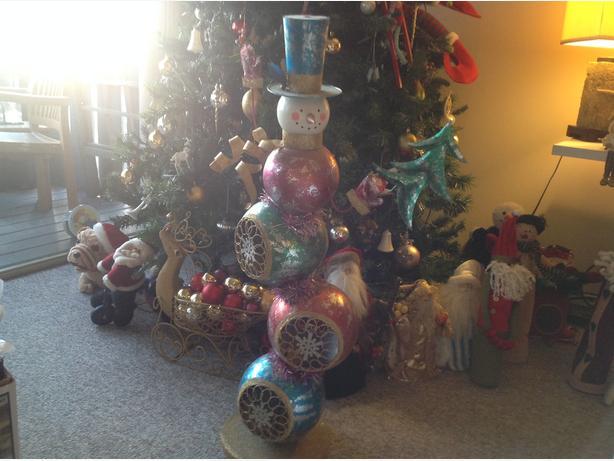 Big Christmas ornament