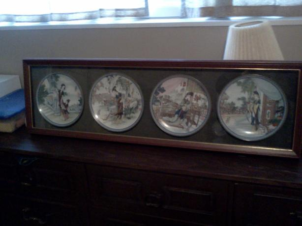 Offers - Collectible plates with frame