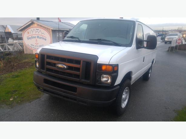 2008 Ford E250 Extended Cargo Van-1 Year Warranty Included