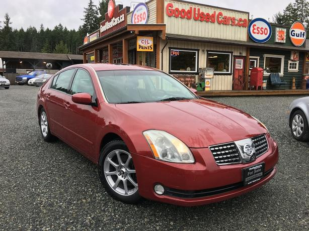 2006 Nissan Maxima - Super Low KM! Extra Wheels and Tires Included!