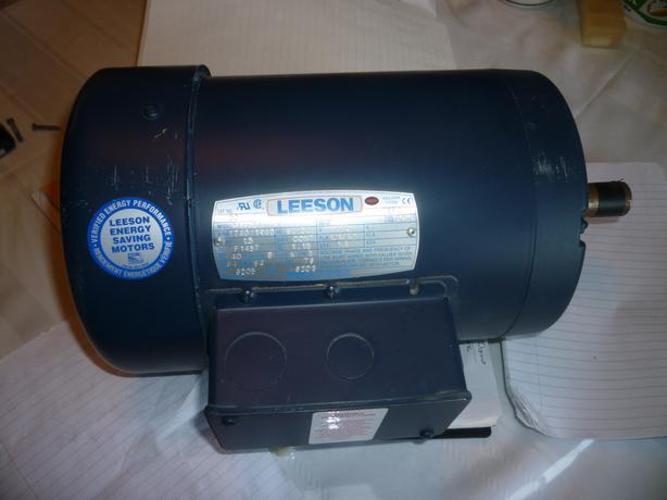 Leeson Motor C145T17FB6G 1.5hp 3 Phase