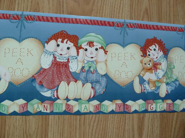 wallpaper border Raggedy Ann and Andy