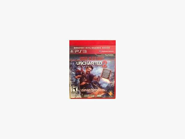 Uncharted 2 PS3 game (new/sealed)