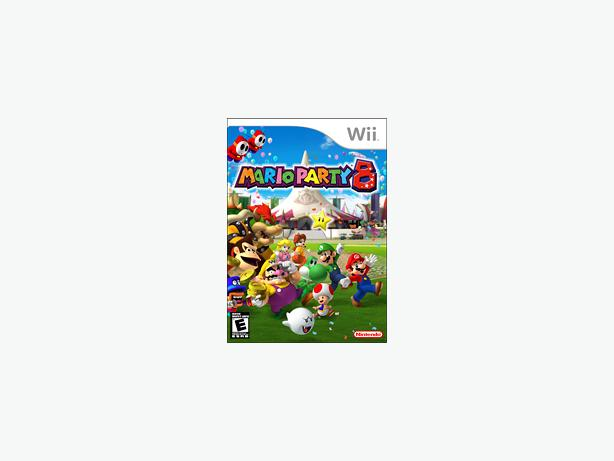 Mario Party 8 game for Nintendo Wii