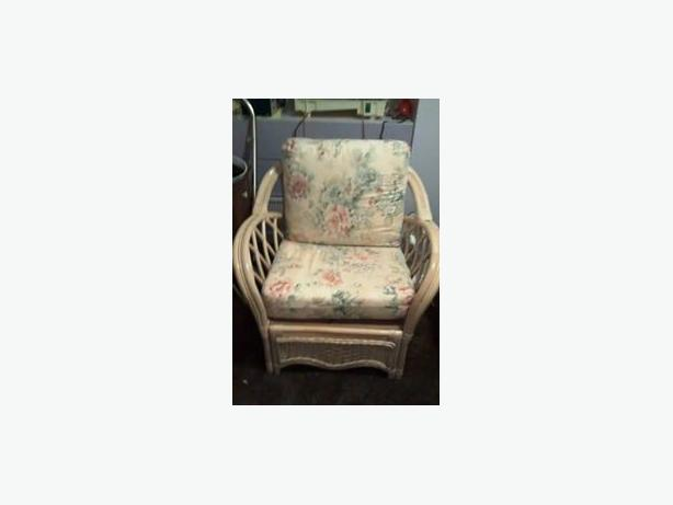 FREE: Wicker Couch and Chair