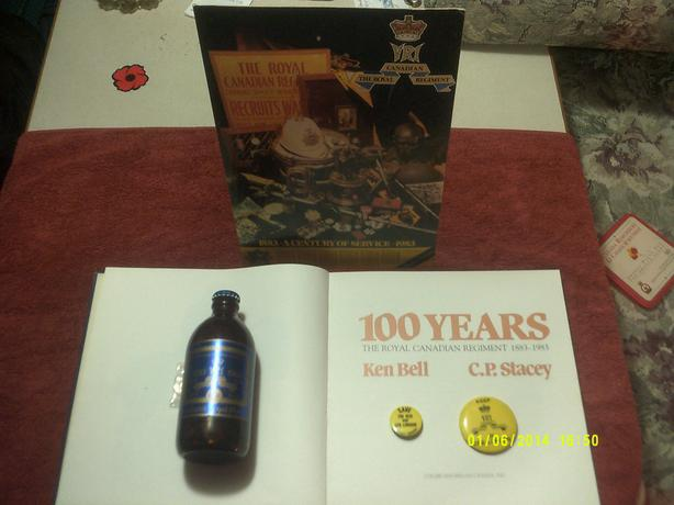 ROYAL CANADIAN REGIMENT 100th ANNIVERSARY COLLECTION
