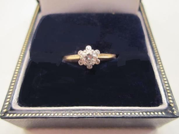 Heirloom VVS1 Diamond Ring - Size 6