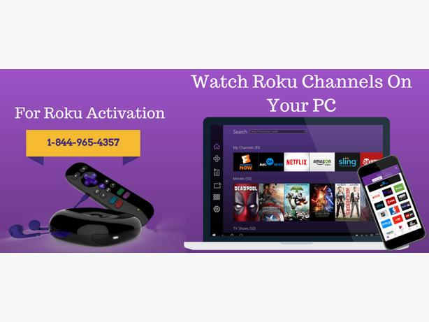 Enjoy Roku Channels on your PC