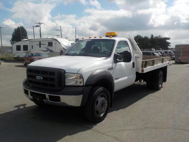 2005 Ford F-450 SD Regular Cab 12 Foot Flat Deck Dually Diesel 2WD