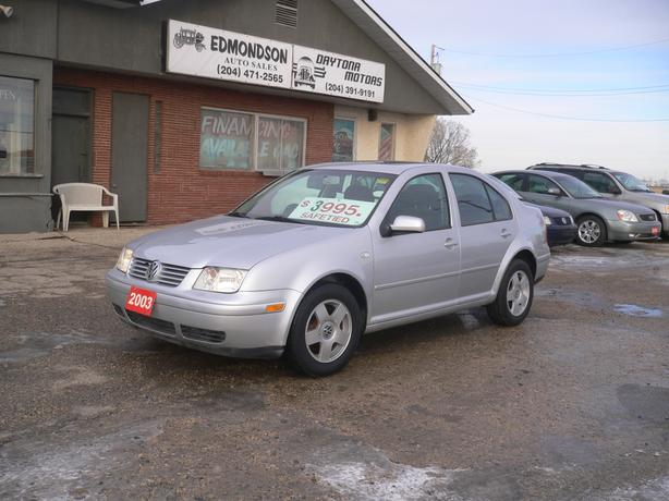 2003 Volkswagon Jetta GL w/ AT and Sunroof