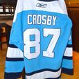 Authentic Sidney Crosby Autographed Pittsburgh Penguins Jersey