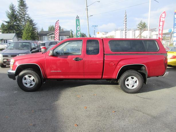 ON SALE! 2004 GMC CANYON 3.5L V6-LIKE NEW WINTER TIRES! 4X4!