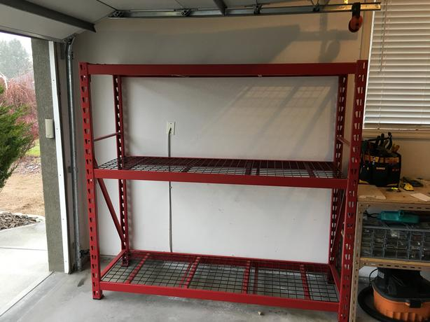 3-Shelf Industrial Rack