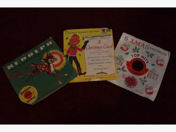 Vintage Children's Collectable Records