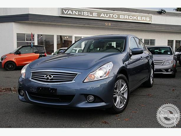 2010 Infiniti G37X AWD Luxury Sedan 77,000KM