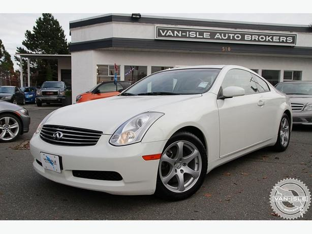 2006 Infiniti G35 Luxury Sports Coupe 104,000KM