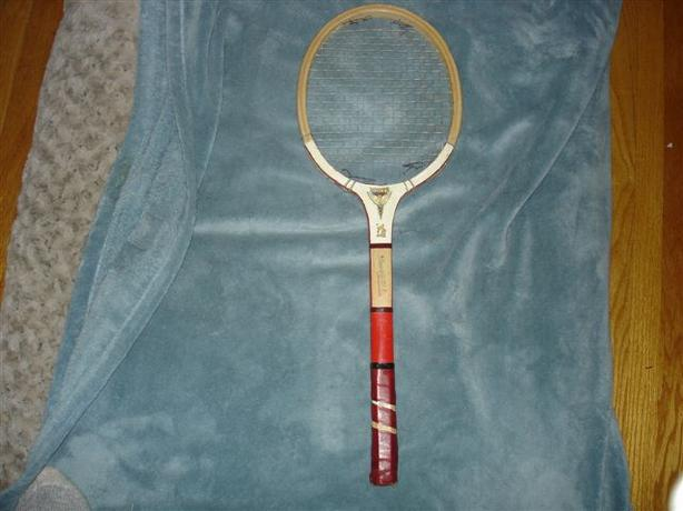 Vintage Wooden Tennis Racket