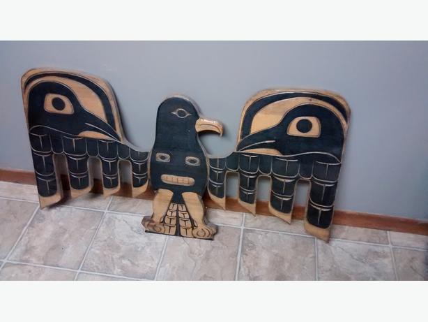Raymond Shaw Senior Eagle Carving Kwak-waka-wakw
