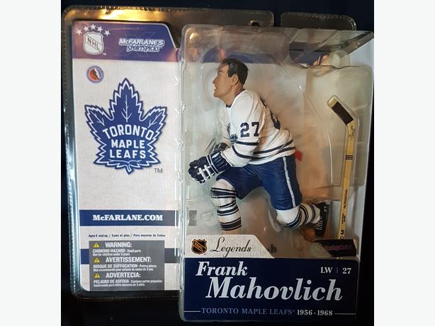McFarlane Toys - Frank Mahovlich - Toronto Maple Leafs - NHL Legends 1 series