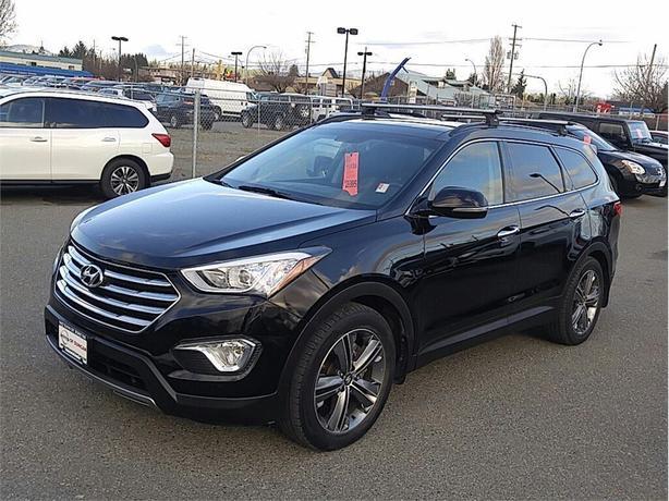 2015 Hyundai Santa Fe XL Limited w/6 Passenger AWD NAVI 1 OWNER BC