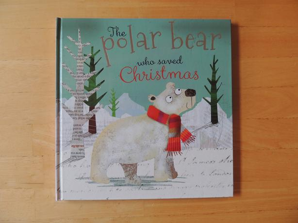 The Polar Bear who Saved Christmas hardcover by Fionna Boon, excellent as new