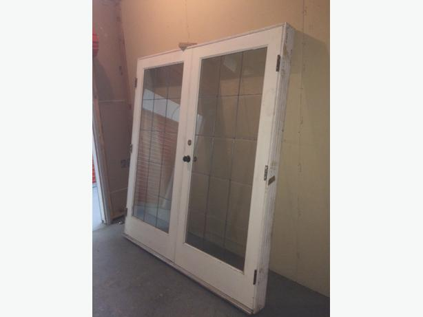 Exterior french doors and frame oak bay victoria for External french doors and frame