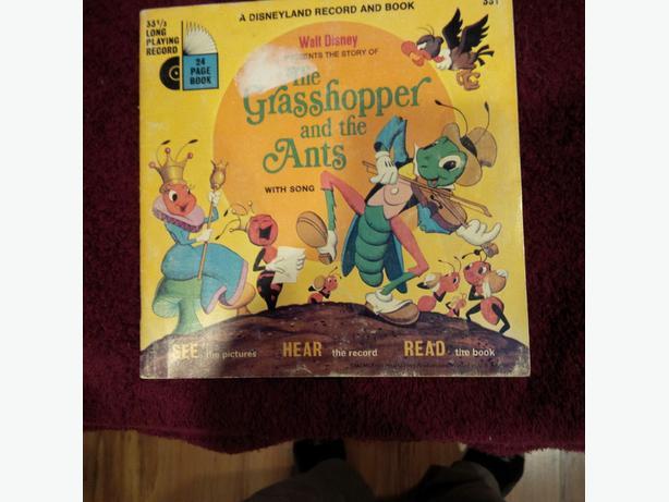 3 Rare Disney/Warner Bros Children Records