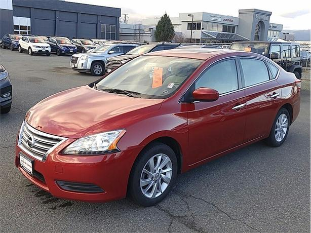 2013 Nissan Sentra 1.8 SV 1 OWNER BC NO ACCIDENTS