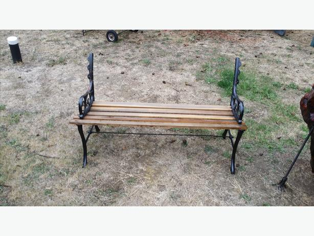 Cast Iron Garden Benches.
