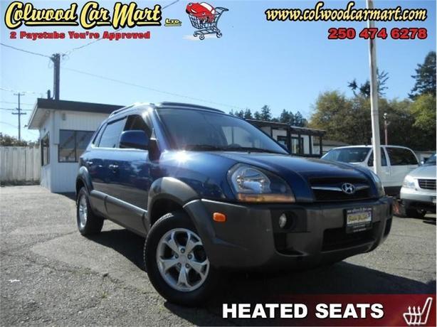 2009 Hyundai Tucson 4X4, Sunroof!