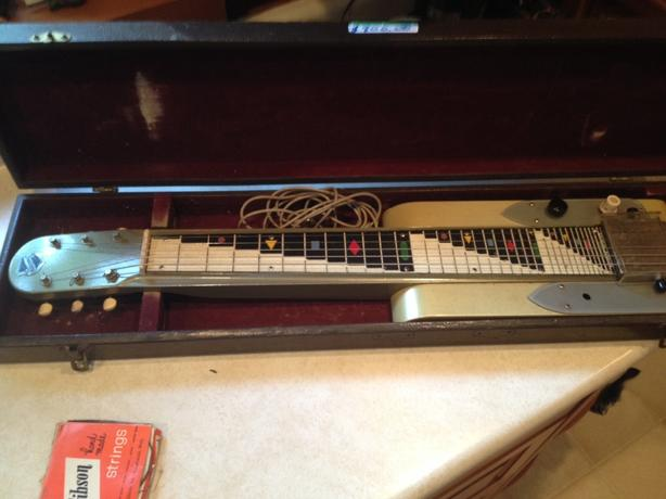 National Dynamic Lap Steel Guitar