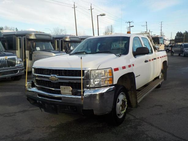 2008 Chevrolet Silverado 2500HD Crew Cab Regular Box 4WD Rail Service Truck