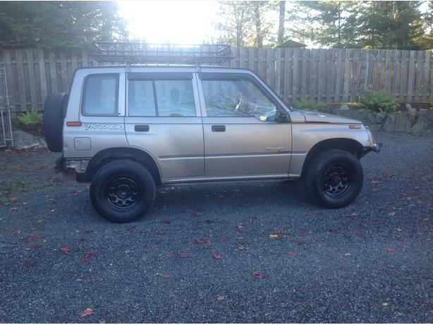 Tracker 4x4 for sale