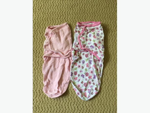 SUMMER INFANT SWADDLES 0-3 MONTHS