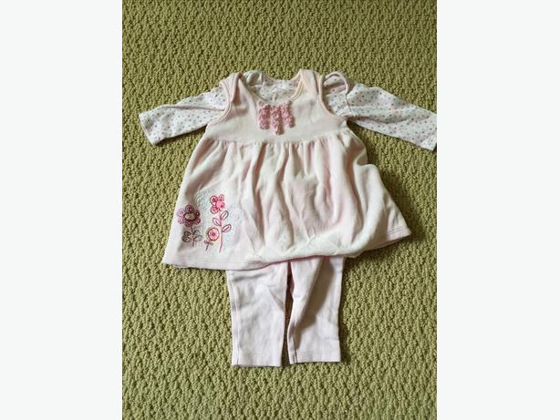 MARKS & SPENCER 3 PIECE OUTFIT 0-3 MONTHS