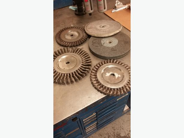 8 inch diameter wheel brushes
