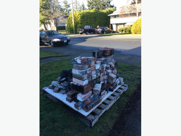 FREE: fireplace bricks