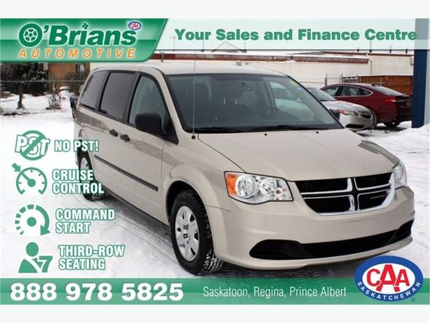 2013 Dodge Grand Caravan SE - No PST! w/Command Start