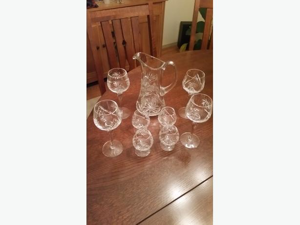 Chrystal drink set
