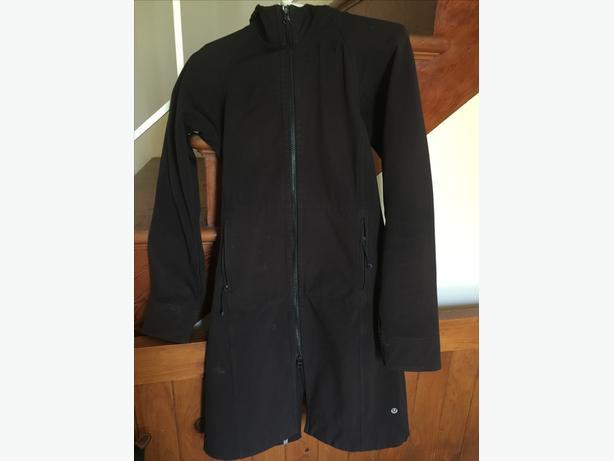 Lululemon Black Long Jacket