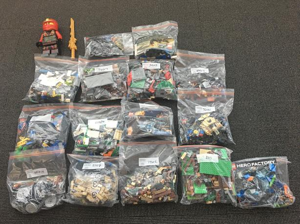 Massive collection of LEGO sets