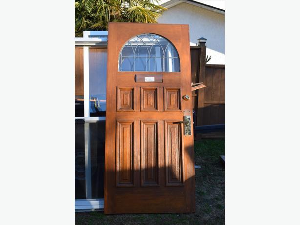 Vintage solid wood door 36x80