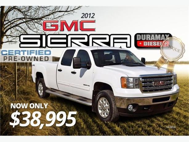 2012 GMC Sierra 3500HD SLE