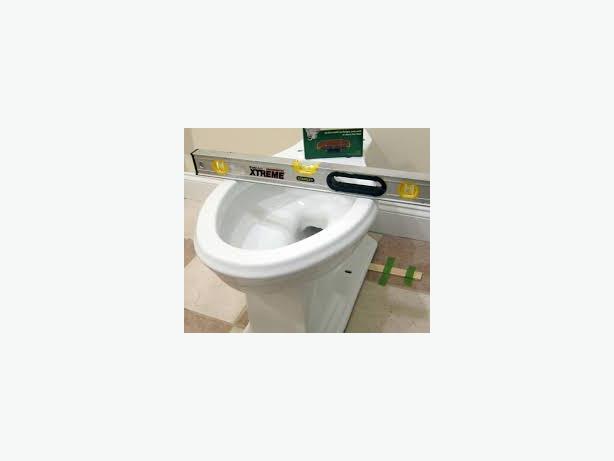 Toilet installation $150 flat