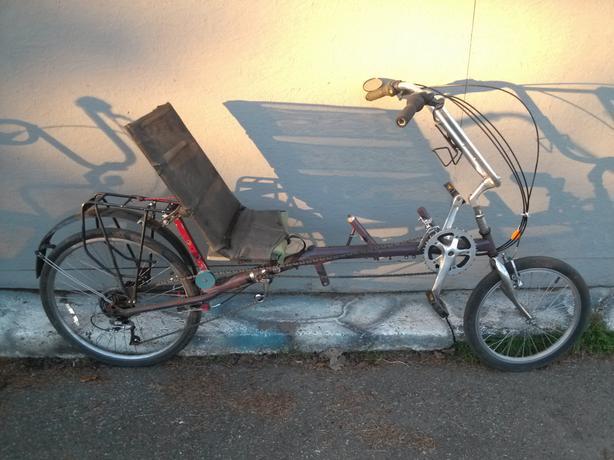 *reduced* to $250 recumbent bike, 14 speed