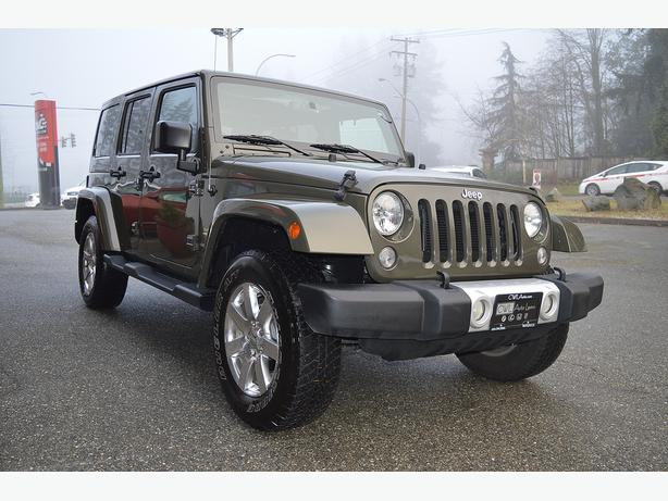 2015 Jeep Wrangler Unlimited Sahara 4WD 4DR