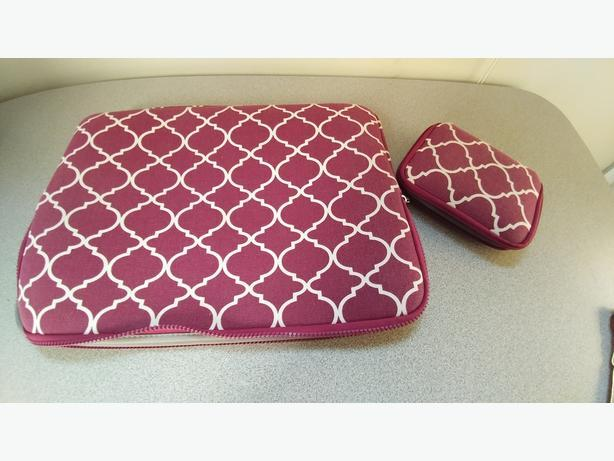 "17"" laptop protective sleeve & mouse/cord sleeve"