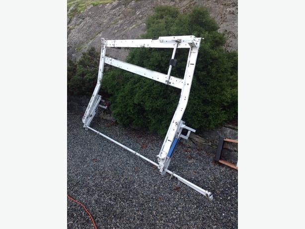 Trades van roof rack
